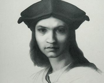 Portrait After Bargue