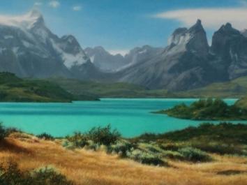 Patagonia – Lake Azure