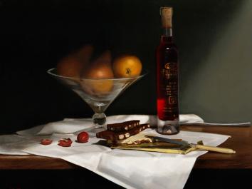 Chocolate, Pears and Icewine